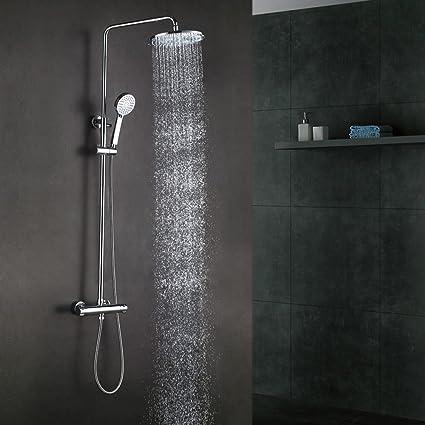 Amazon.com: KES baño Europea – Sistema de ducha termostática ...