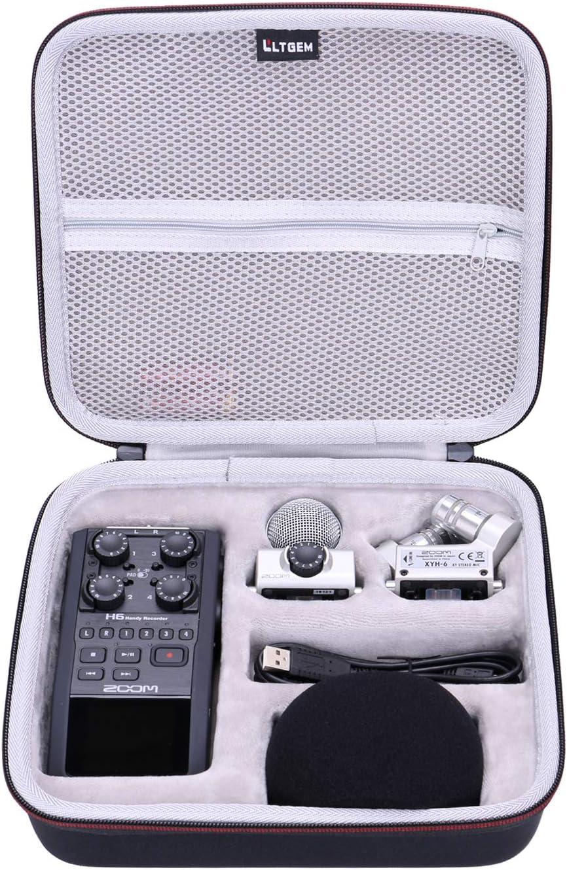Amazon Com Ltgem Eva Hard Case For Zoom H6 Six Track Portable