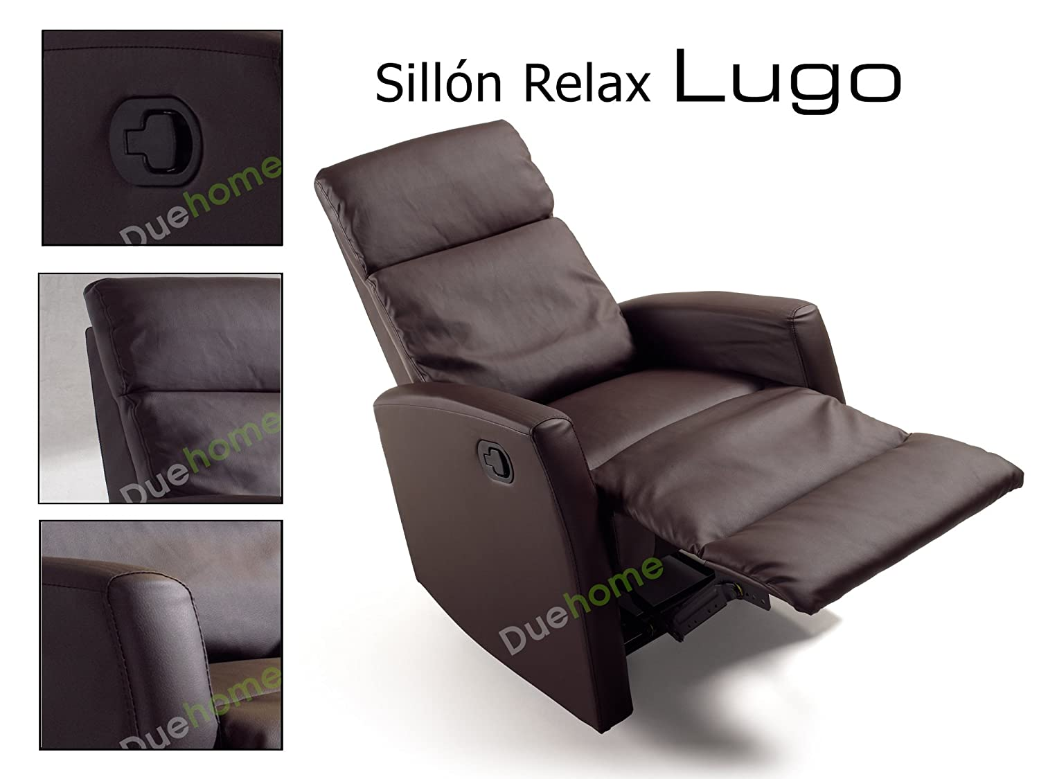 Due-home innovations - Sillón reclinable (66 x 88 x 103 cm ...