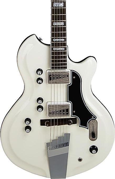 Supro Martinica Semi-Hollow guitarra eléctrica,: Amazon.es ...