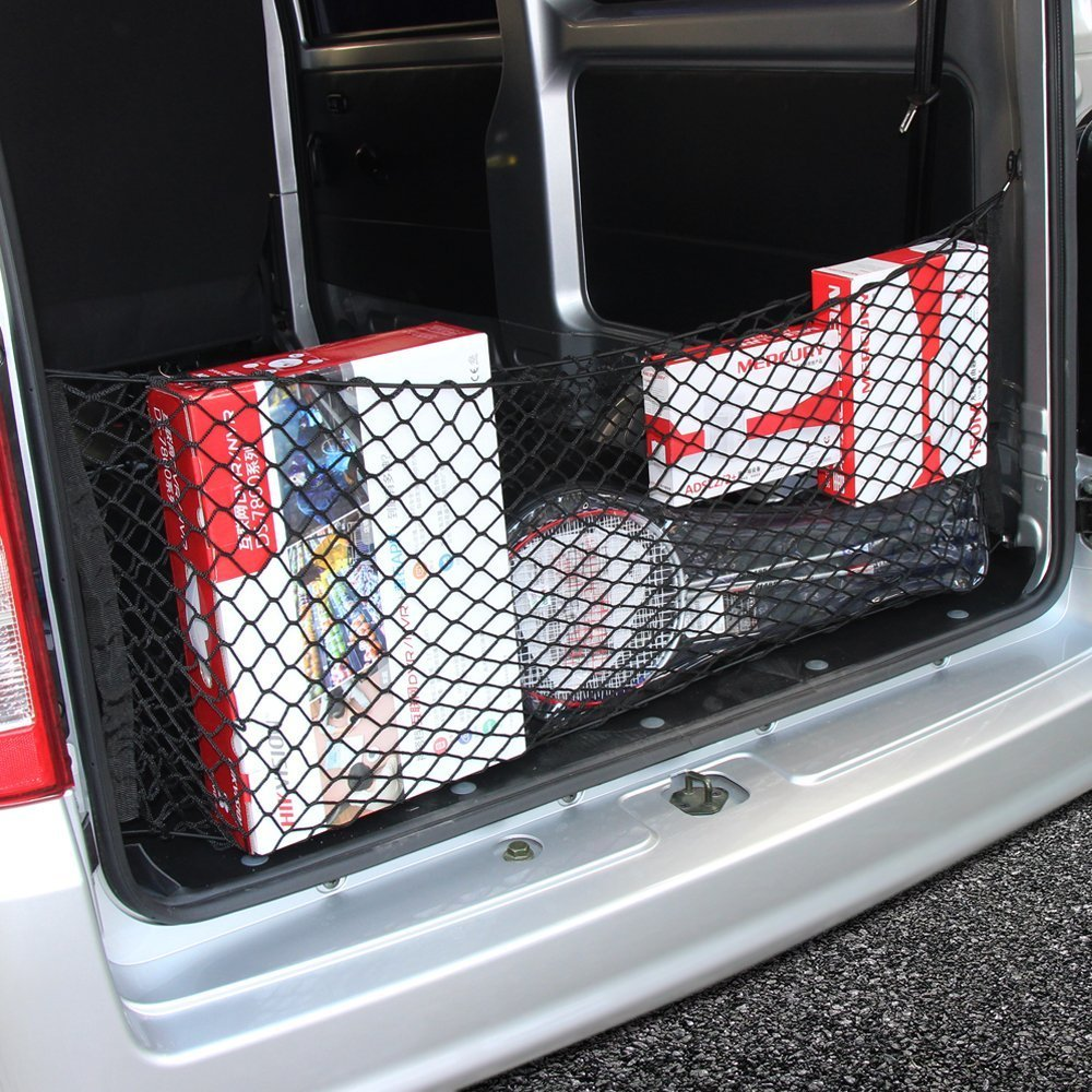 JessicaAlba Envelope Style Trunk Cargo Net for Jeep Grand Cherokee Liberty Compass Dodge Journey Durango Grand Caravan Nitro Grand Caravan
