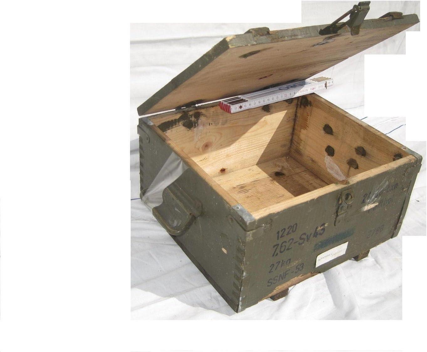 Unbekannt Caja de Madera Rusia Militar Caja para Granada de Mano Shabby Chic Vintage, Caja, Caja, 34 cm: Amazon.es: Hogar