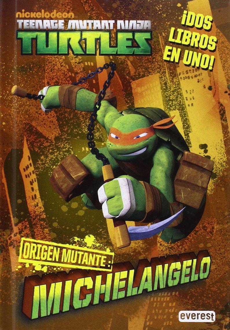 Tortugas Ninja: Origen mutante. Michelangelo/Raphael: Wendy ...