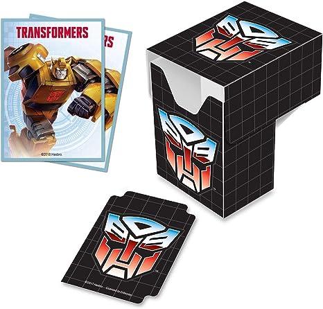 Ultra Pro Transformers Autobots Pro 100 + Caja de Cubierta con Mangas Protectoras de Cubierta Bumblebee: Amazon.es: Juguetes y juegos