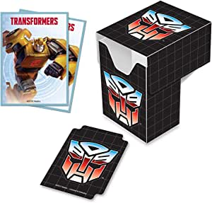Ultra Pro Transformers Decepticons Pro 100 Deck Box and 100ct Protector Sleeves