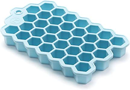 Outset Hex Ice Cube Mold, Silicone, Small