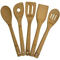 Totally Bamboo 20-2069 5PC Bamb Utensil Set