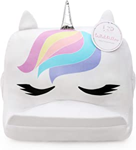 Plush Unicorn Kids Tablet Holder Pillow Stand for Girls, Travel and Home Tablet Stand
