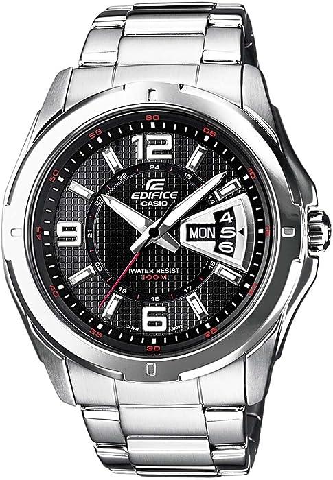 0526c25b3499 Casio Reloj de Pulsera EF-129D-1AVEF  Casio  Amazon.es  Relojes