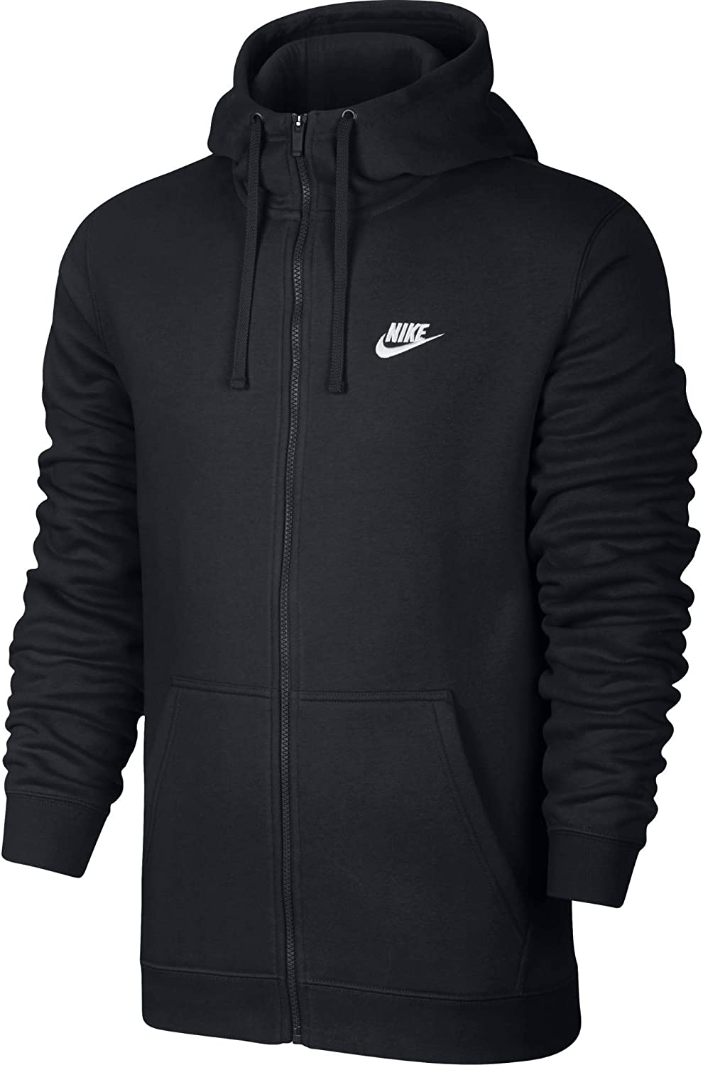 Broma Víspera de Todos los Santos obtener  Amazon.com: Men's Nike Sportswear Club Full Zip-Up Hoodie: Nike: Clothing