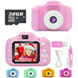 Hachi's Choice Gift Kids Camera Toys for 1-9 Year Old Girls, Compact Cameras for Children,Best Birthday Festival Gift…