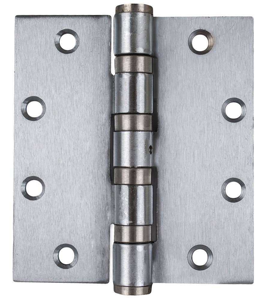 Global Door Controls CPH5045BBNRP26D-3 Best Seller Imperial USA 5.0 x 4.0 inch Satin Chrome Full Mortise Heavy Weight Ball Bearing Nrp Hinge - Set of 3