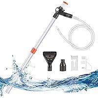 Zerodis Cambiador de Agua el/éctrico para acuarios Tanque de Peces Limpiador de Grava lavador de Arena Limpiador de Grava Herramientas de Limpieza para acuarios Accesorios para Tanque de Peces