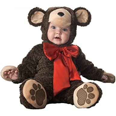 Amazon.com: Baby Teddy Bear Halloween Costume (Size:12-18M): Clothing