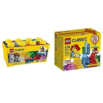 Amazon.com: LEGO Classic Medium Creative Brick Box 10696 with LEGO ...
