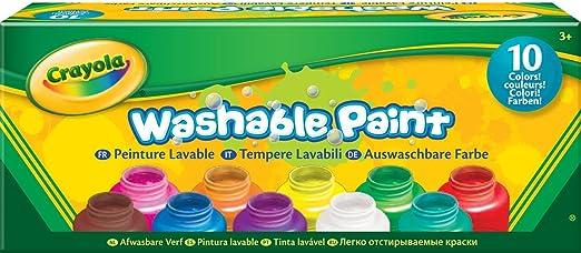 142 opinioni per Crayola 54-1205- I Lavabilissimi 10 Tempere