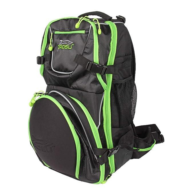 ZAOSU Transition Bag Elite - Mochila de triatlón con compartimiento para casco: Amazon.es: Ropa y accesorios