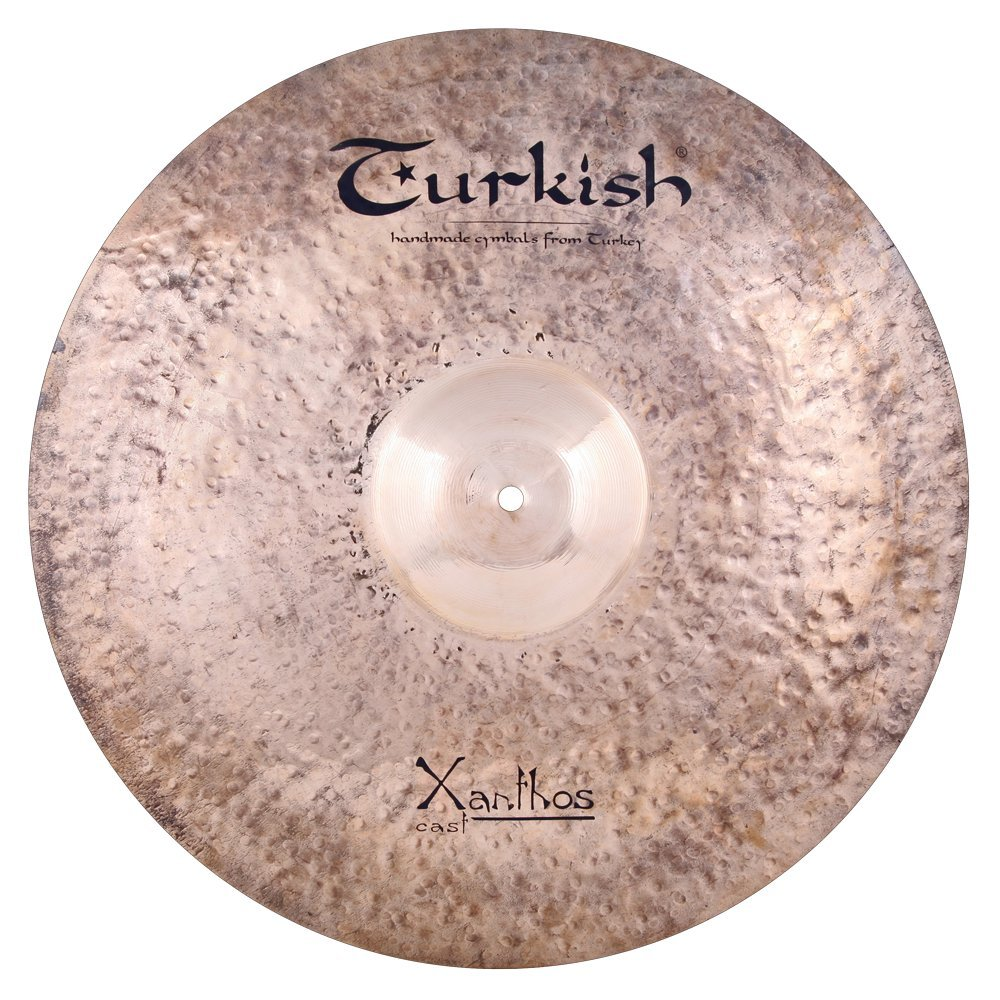 Turkish Cymbals Rock Series 22-inch Xanthos Cast Ride * XC-R22   B073XV6B8Q