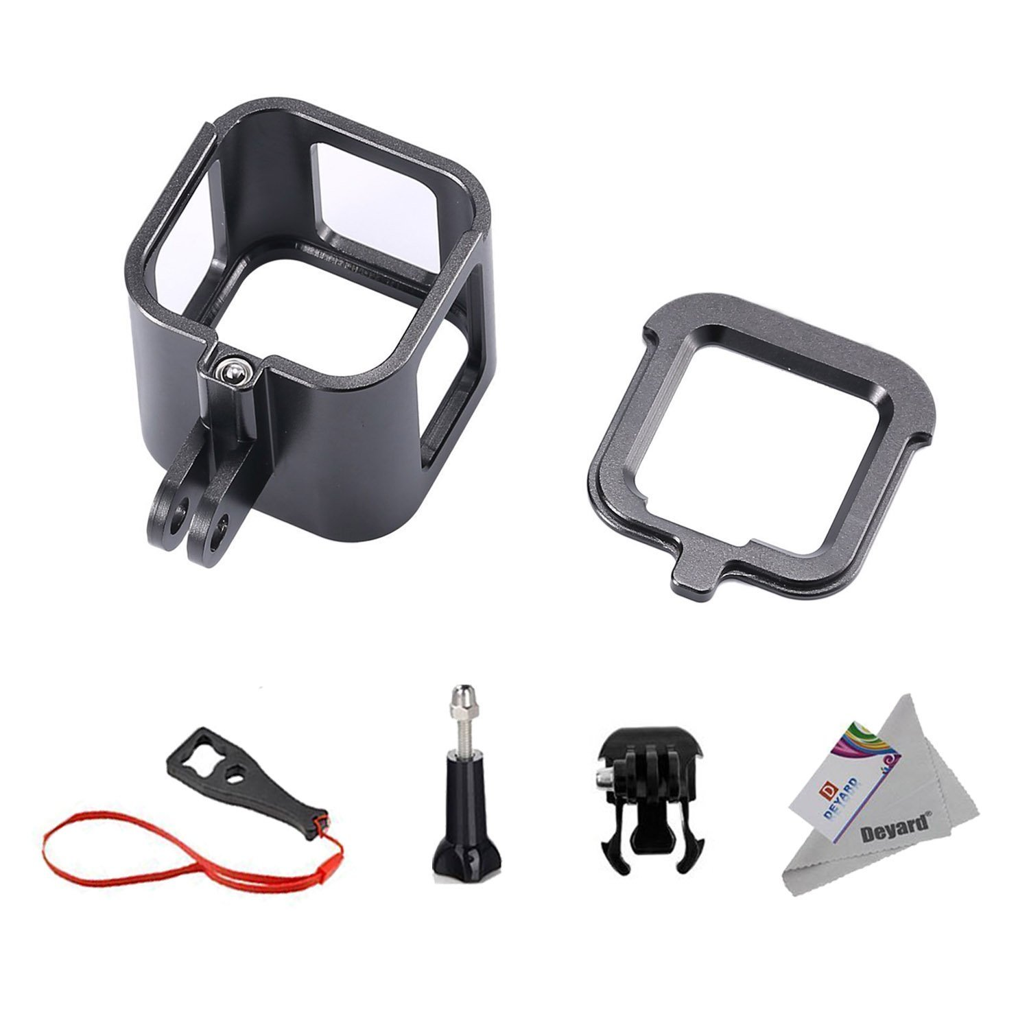 Deyard S-08 Aluminum Alloy Standard Protective Housing Frame Case for GoPro Hero 5 Session Hero 4 Session Camera Deyard Tech TS008