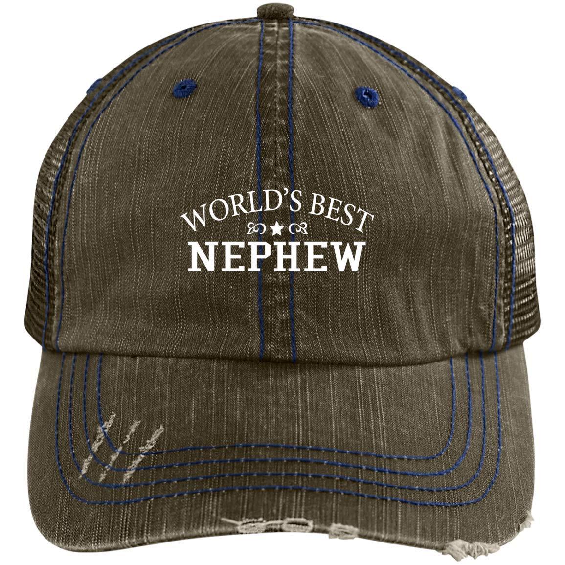 Worlds Best Nephew Baseball Cap Gift for Nephew Nephew Hat Nephew Baseball Hat Gift for Nephew Nephew Hat for Nephew