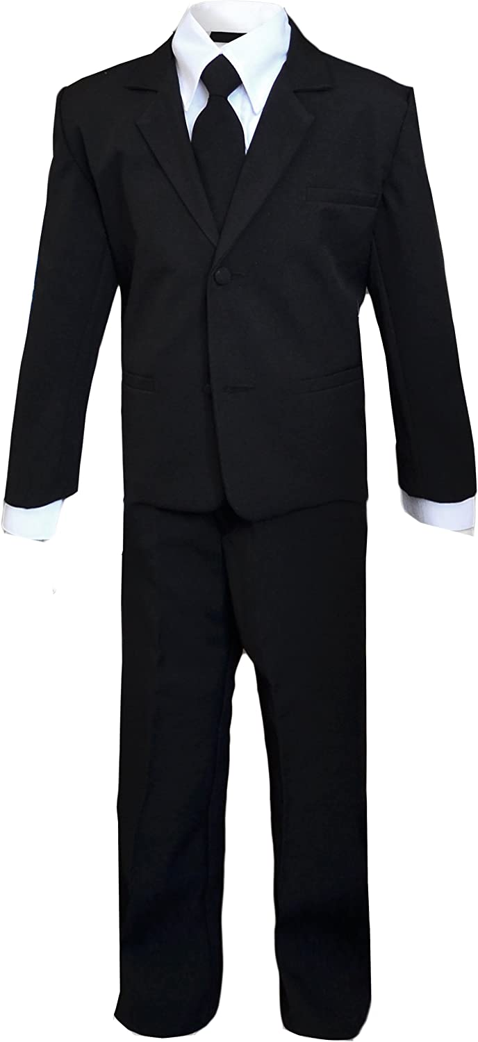 Kids Secert Agent Black Suit Outfit Costume Only. Mask not Included.