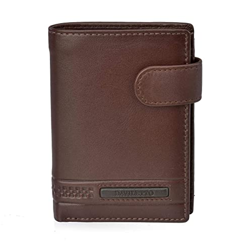 Daviletto Cartera para Hombre con Monedero 4502 (Color ...