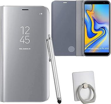 Guran® Mirror Efecto Espejo Funda para Samsung Galaxy J6+ / J6 ...