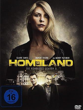 Homeland Die Komplette Season 5 4 Dvds Amazonde Claire Danes