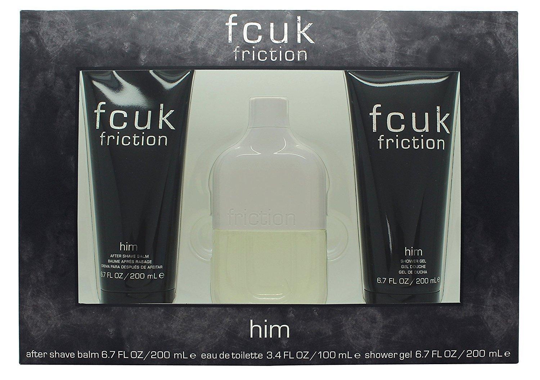 Fcuk Friction Eau De Toilette Spray Gift Set for Him FCU-FRH-M-00-100-04