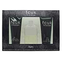 Fcuk Friction Eau De Toilette Spray Gift Set for Him