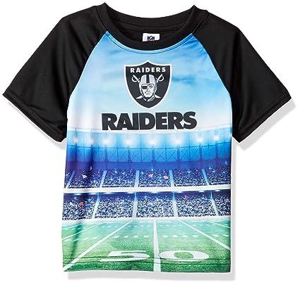 a1d688adb Gerber Childrenswear NFL Oakland Raiders Boys 2018Short Sleeve Stadium Tee,  Black, 4T: Amazon.in: Sports, Fitness & Outdoors