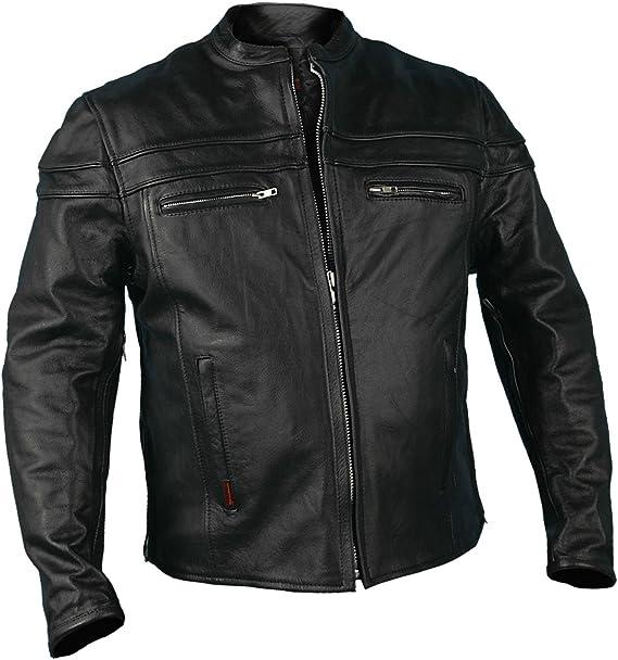 Hot Leathers JKM1011 Motorcycle Jacket
