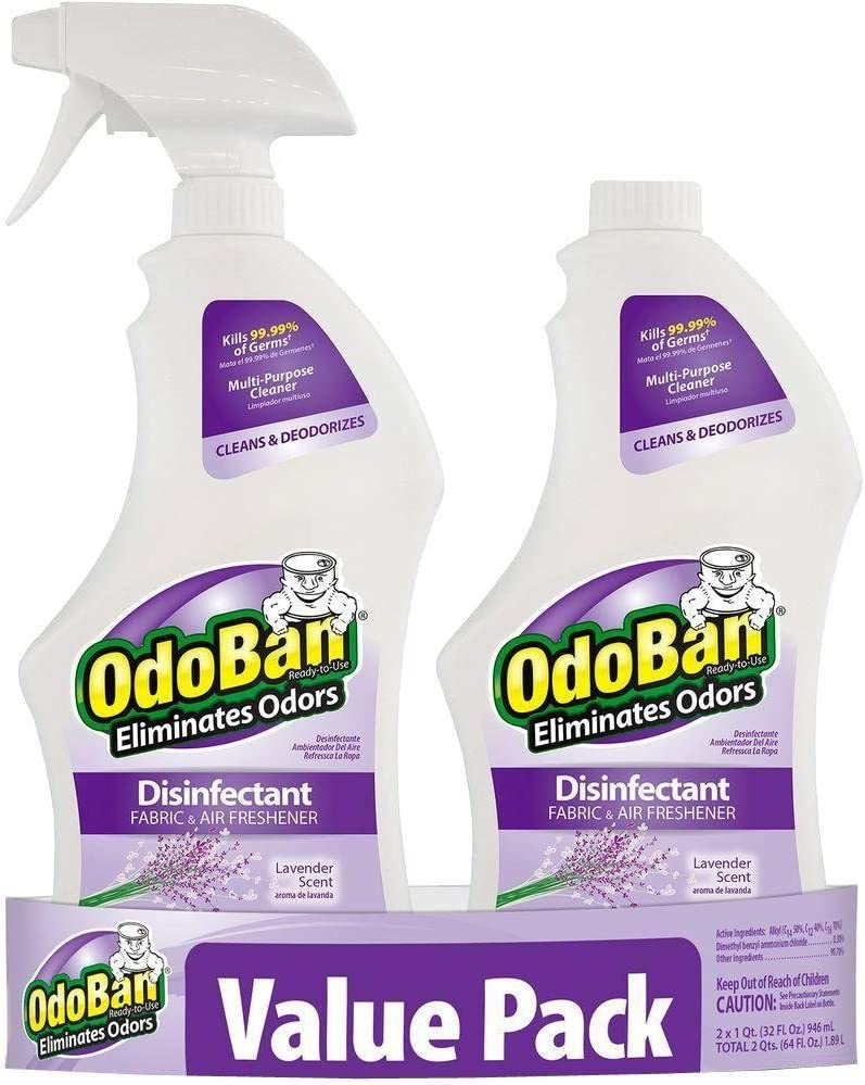 Odoban 32G Lavande Nettoyant et désinfectant prêt à l'emploi Value Pack