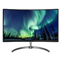 Philips 278E8QJAB / 00 E-line Monitor LCD curvo de 27 pulgadas con monitor Ultra Wide-Color Full HD (1920 x 1080) - Negro