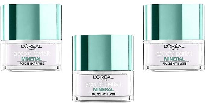 LOréal Paris Accord Parfait Mineral - Polvo de acabado ...