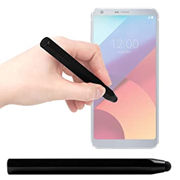 DURAGADGET Lápiz Stylus Negro para Smartphone LG 306G, LG Aristo ...