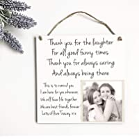 Best Friends Gift Plaque Personalised Sign Birthday Friendship Love Photo W281