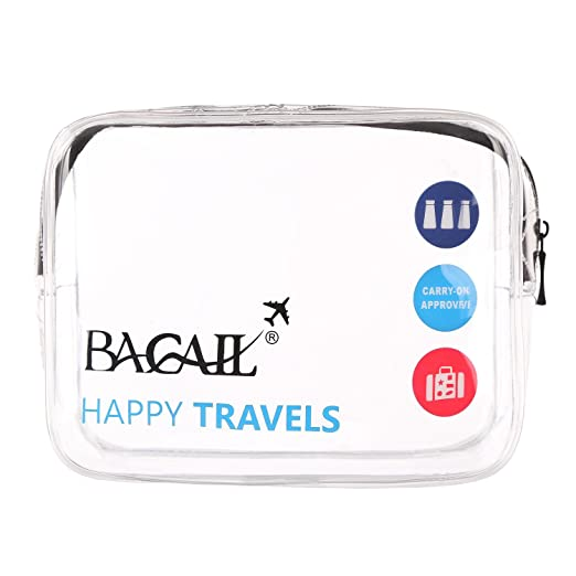 bagail transparente viaje bolsa de aseo | tamaño Quart con ...