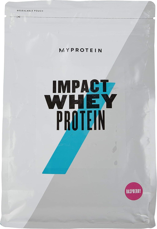 MyProtein Impact Whey Proteína de Suero, Sabor Frambuesa - 1000 gr