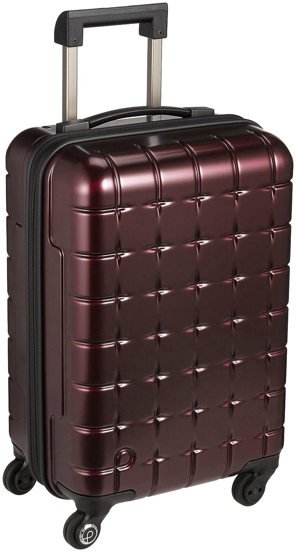 [プロテカ] Proteca スーツケース 日本製 360s(スリーシックスティエス)メタリック 3年保証 サイレントキャスター 49cm 32L 機内持込みサイズ B0714HYB8B ボルドー ボルドー