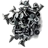 Paquete De 250 ONESTOPDIY.COM Galvanizado Techo Fieltro Clavos de Tapicero 20MM