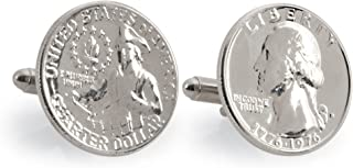 product image for American Coin Treasures Washington Quarter Cuff Links