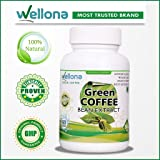 Wellona Green Coffee Beans Extract Weight Loss Pills - 60 Capsules