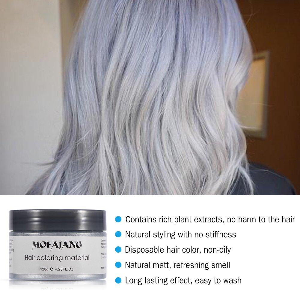 Filfeel Hair Color 120ml Men Women Disposable Hair Dye Mud