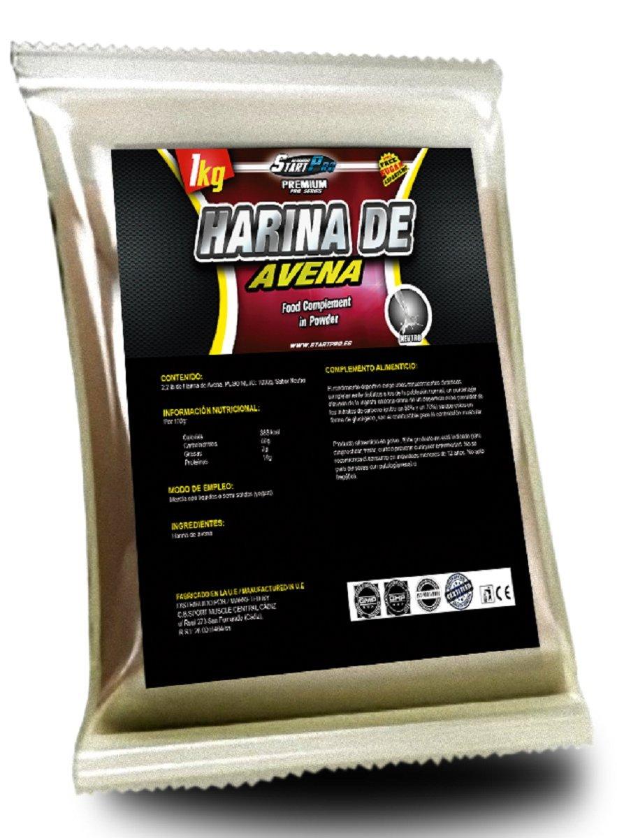HARINA DE AVENA START-PRO (LECHE MERENGADA, 2 x 1000 Gramos): Amazon.es: Salud y cuidado personal
