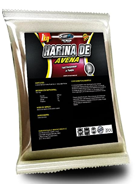 HARINA DE AVENA START-PRO (LECHE MERENGADA, 2 x 1000 Gramos)