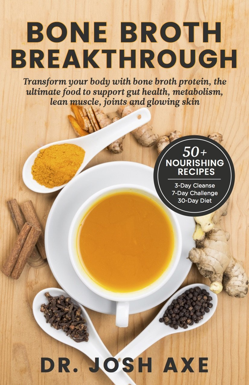 Bone broth breakthrough transform your body with bone broth the ultimate food to support gut health metabolism lean muscle joints and glowing skin josh axe 9780997599992 amazon books forumfinder Image collections