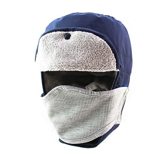 Amazon.com: Trapper sombrero con orejeras nylon resistente ...