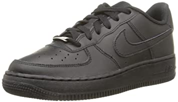 hot sales d9f9a 6a9ad Nike Air Force 1 Low Black Youths Trainers Size 3 UK
