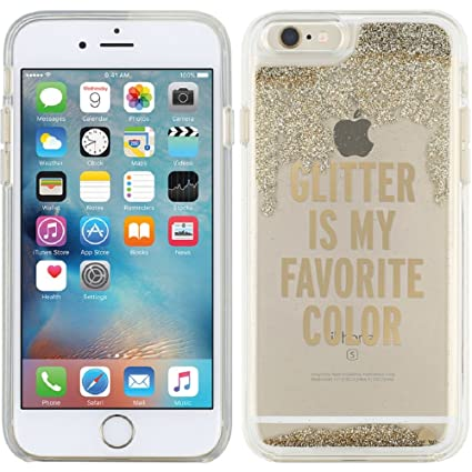 glitter fall iphone 6 plus case